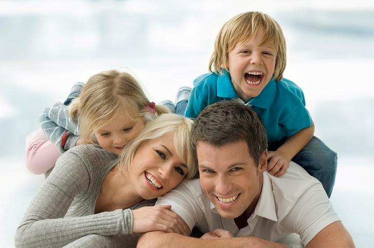 счасливая семья
