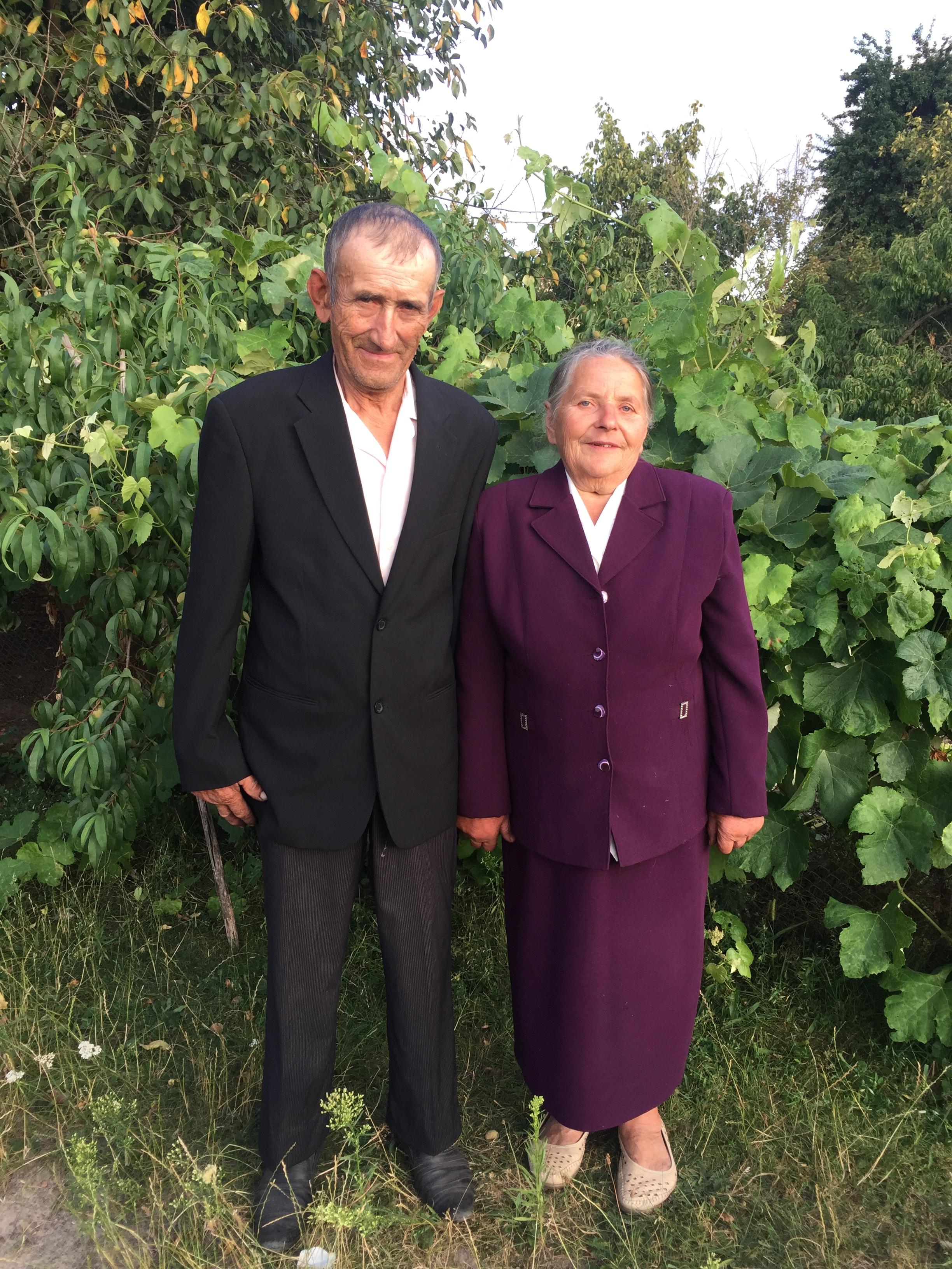 Іван Романюк з дружиною Олександрою