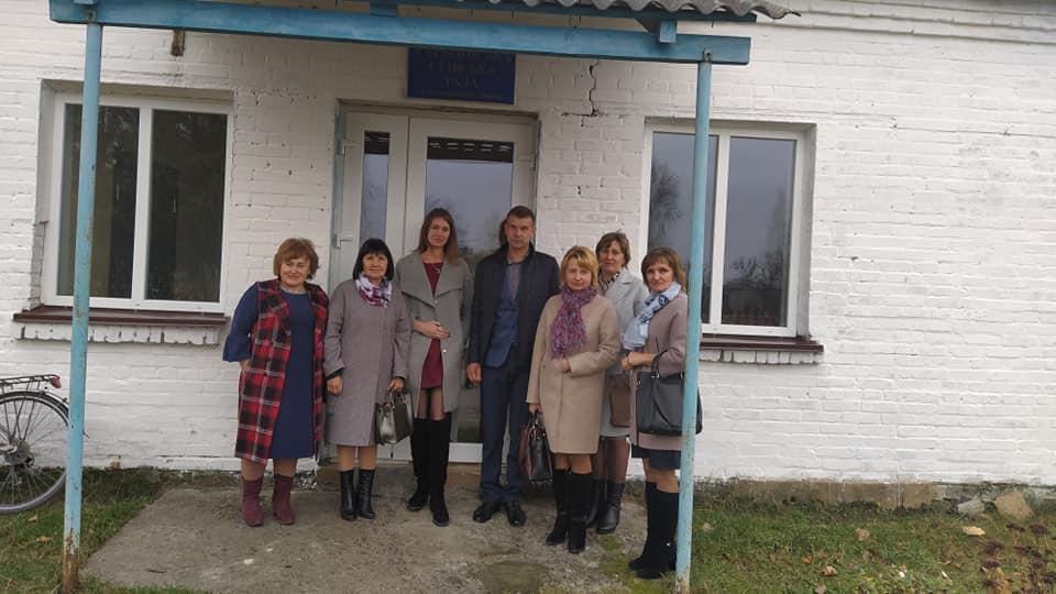 Робоча зустріч посадових осіб Сошичненської та Карасинської сільських рад
